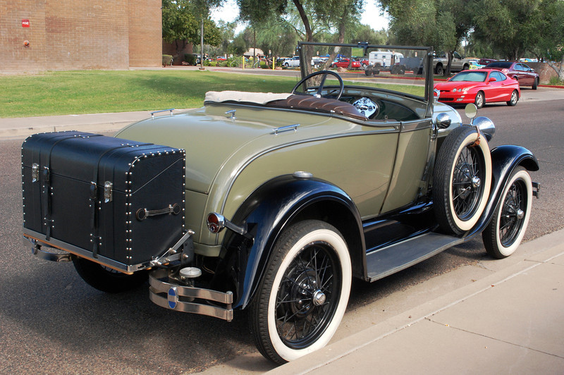 Ford 1928 Model A roadster rr rt