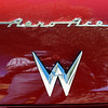 Willys 1952 Aero Ace trunk badge