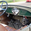 Ford 1928 Model A roadster interior ft rt