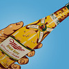 Champagne of Beers with this pop art piece from 1961 Miller High Life