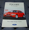 Ford Escort RS Cosworth media material