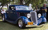 Ford 1934 3 window coupe