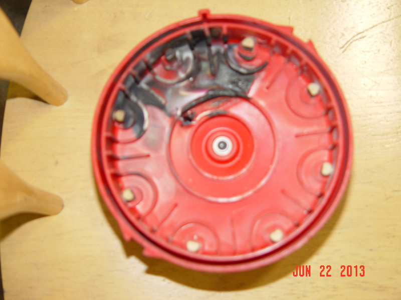 burnt cap and rotor from Lous chevelle (1)