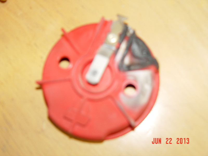burnt cap and rotor from Lous chevelle (2)