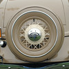 Ford 1934 roadster rear closeup