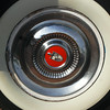 Lincoln 1955 Capri wheelcover