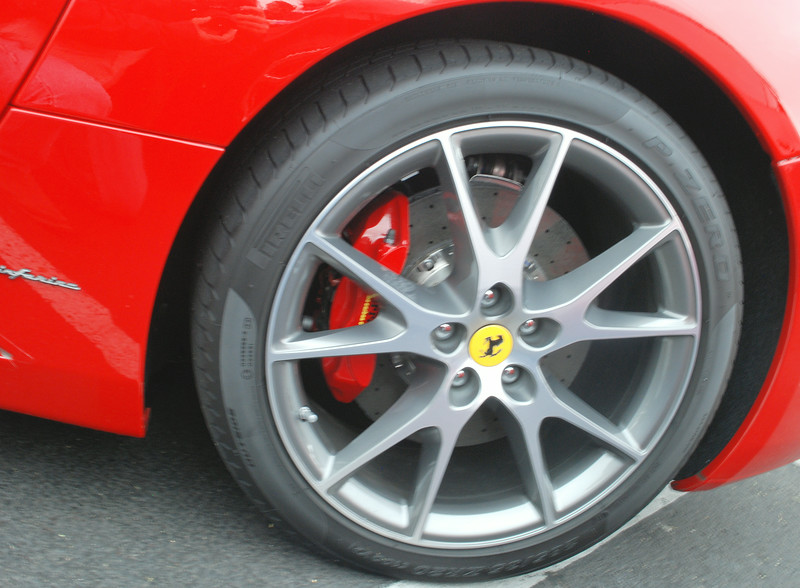 Ferrari California 2011 ft wheel
