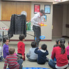 Captain Mugsy entertains kids with balloon creations, 17/02/14