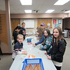 "Kids create and customize their own magic wands as part of CSD's Spring Break ""Tricks of Wizards"" program. 1/4/2014"