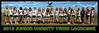 2013 Jr Varsity Tribe Panoramic Team Poster
