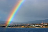 Rainbow over Punta Arenas