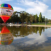 Balloon reflections, Old Parliament House Canberra