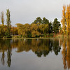 Autumn reflections in Canberra, Australia