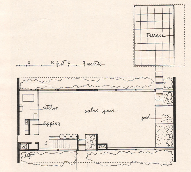 Architectural drawing of Loft's Candy Garden that was located on the middle island of Route 22 where Wendy's is currently located. Here is the history of Lofts: http://www.brandnamecooking.com/loftcandy.html