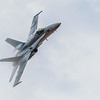 High Speed pass McDonnell Douglas F/A-18 Hornet