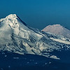 Mt Hood and Mt Adams