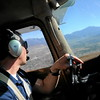 Pilot Carl Rossi flies the Air Support Unit of the Redlands Police Department, a 1967 Cessna 172, on Friday, March 20, 2015 in Redlands, Ca. (Micah Escamilla/Redland Daily Facts)