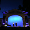 From left, David Shenton, Erin Shields and Giuseppe Spoletini, of O Sole Trio, perform at the Redlands Bowl on Friday, July 18, 2014 in Redlands, Ca. (Micah Escamilla/Redlands Daily Facts)