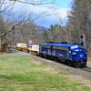 Pan Am Fs on MEAY leave Shelburn Falls.