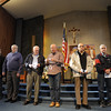 Seton Catholic School holds a special Veteran's Day service for local veterans at Our Lady of Lourdes Church in Brighton.