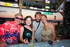 Scott, Amy, Levi and Karen enjoying the Hideaway Tiki Bar - Photo by Pat Bonish