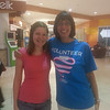 Jenny met Katie, a Salem Academy graduate, during packet pickup at the Cary mall and the Salem sisters got a photo!