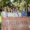 UC Davis graduates in family grouping
