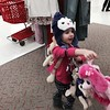 Here goes Emma on another shopping spree<br /> Such a little girly girl