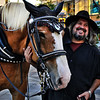 Carriage rides in Downtown Denver