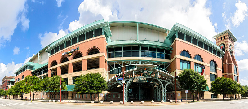 Quiet afternoon at Minute Maid Park