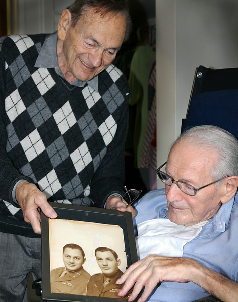 Twins at 90 Remember WWII