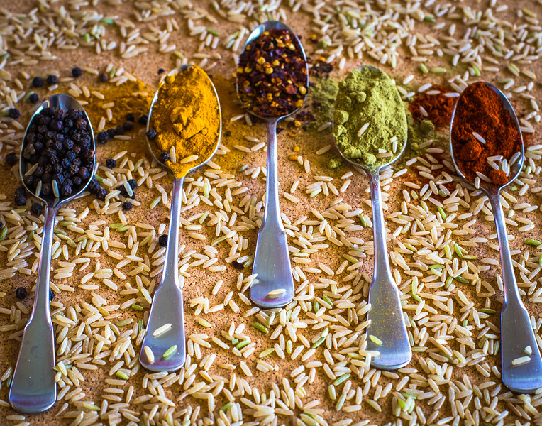 Spoons of Spice for Rice