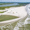 Stabilization project at Folly Beach County Park, August 2013