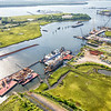 Shipyard Creek, and the Cooper River, North Charleston, SC