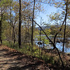 C&O Canal Towpath and Potomac River near the uncompleted replacement for Dam 3