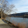 Towpath approaching Potomac Water Gap at Harpers Ferry