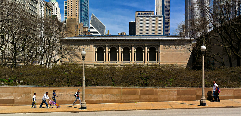 Art Institute Chicago Springtime