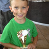 Evan's first trophy - baseball