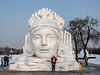 'Snowflake Beauty', snow sculpture festival, Harbin, China