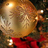 Golden Holiday Ornament