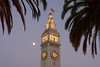 Ferry Building & Full Moon