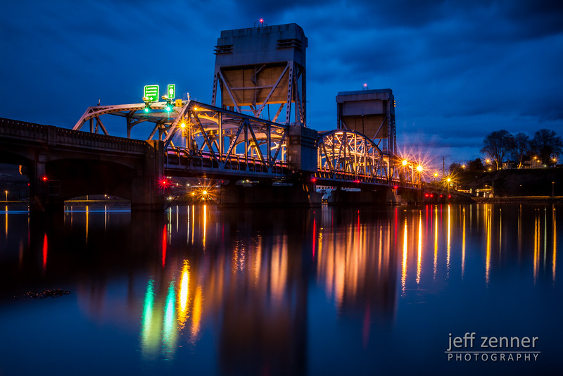 Blue Hour at the Blue Bridge