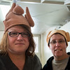 Colleen Norris and Deb Biggins, turkeys of the year
