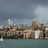 Racing the storm<br /> Sydney Harbour