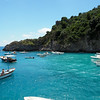 A beach by Boat in Sorrento