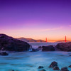 Evening Glow, Lands End, San Fransico, California