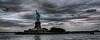 New York Statue of Liberty wide