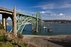 Yaquina Bay Bridge, 1936, Newport, Oregon Coast, Oregon U.S.A.
