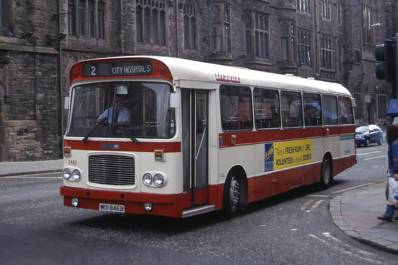 Citybus 2462 Howard St Belfast Jun 99