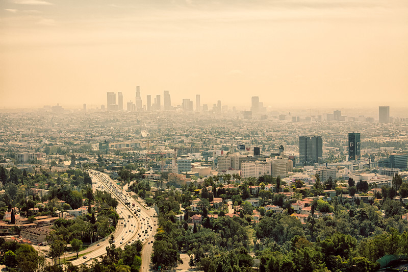 Haze of LA<br /> Los Angeles, CA